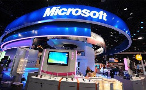 Stand Microsoft al CES 2011