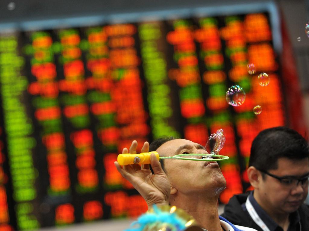 """Финансовый регулятор КНР заявил о """"пузыре"""" на мировых фондовых рынках"""
