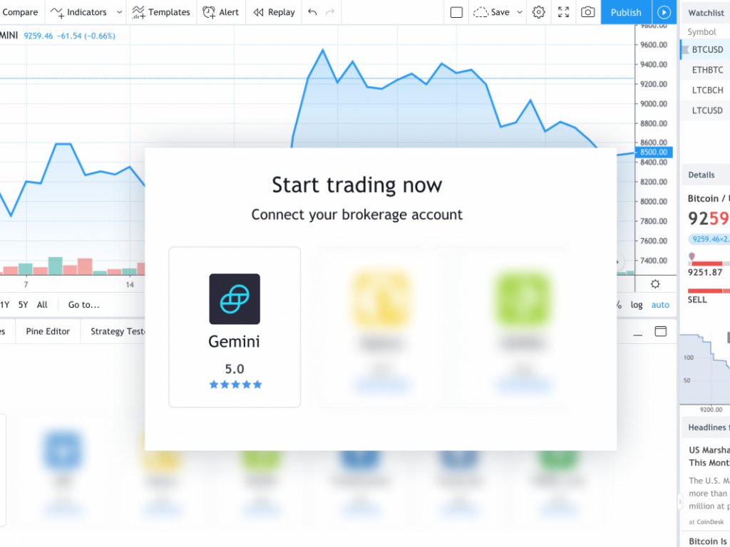 gemini a cryptocurrency exchange