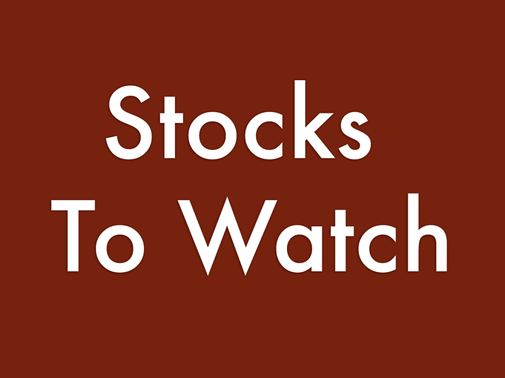 5 Stocks To Watch For June 4, 2021