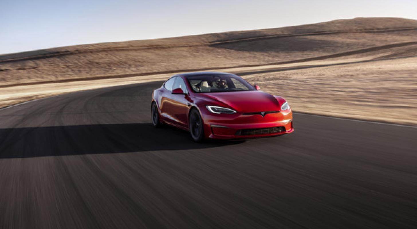 Multiple Tesla Model S Plaids Pictured At Nürburgring Testing 'Track Package' Variants