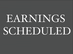Earnings Scheduled For August 13, 2020