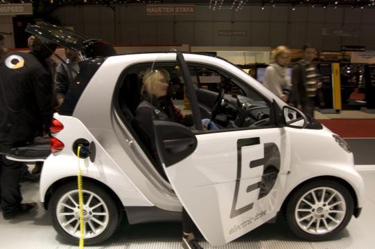 Mercedes Smart Electric