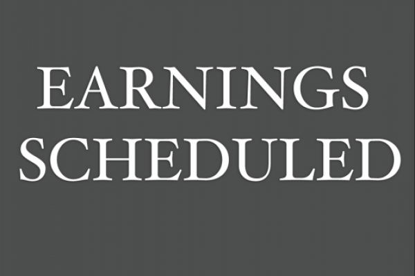Earnings Scheduled For May 26, 2020