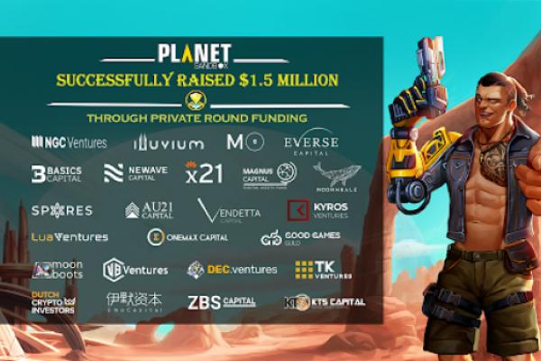 Planet Sandbox Raises $1.5 Million For Play-To-Earn Sandbox Shooting Game