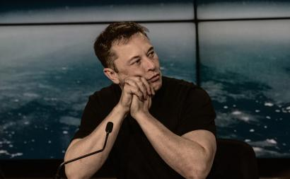 Elon Musk. Photo by Daniel Oberhaus on Flickr