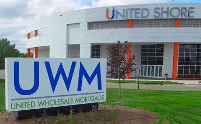United Shore HQ, courtesy of United Wholesale Mortgage.