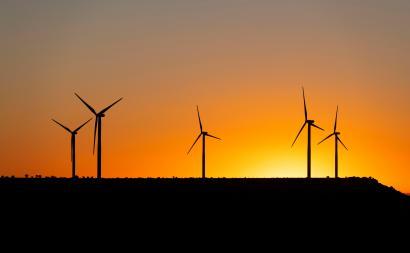 NextEra wind turbines.