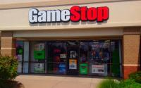 A GameStop storefront.