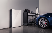 A Tesla charger.