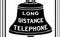 Bell System logo, 1889