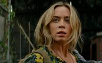 "Emily Blunt in a scene from ""A Quiet Place Part II."""