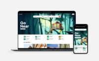 The Airbnb platform.