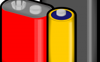 An illustration of battery cells.
