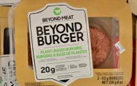 Beyond Meat burger.