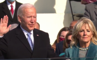 President Joe Biden and First Lady Jill Biden at the Jan. 20 inauguration.