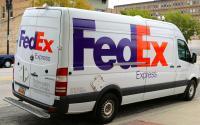 FedEx Express delivery van.