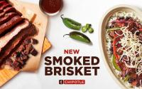 Chipotle's new smoked brisket.