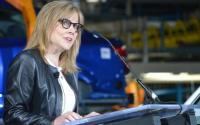 GM CEO Mary Barra. Benzinga file photo by Dustin Blitchok.