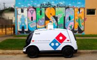 Domino's teams with Nuro for autonomous pizza delivery In Houston.