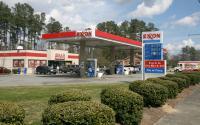 Exxon Petrol Pump