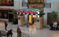 A Foot Locker store inside a shopping mall.