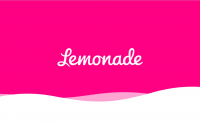 The Lemonade logo.