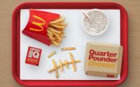 A Travis Scott meal at McDonald's.