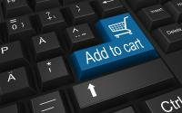 An illustration of online shopping.