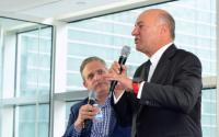 "Benzinga CEO Jason Raznick and ""Shark Tank"" judge Kevin O'Leary."