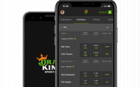 The DraftKings app.