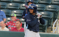 Wander Franco to debut tonight with the Tampa Bay Rays.
