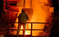 Steel mill.