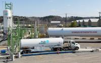 A Plug Power hydrogen production facility.