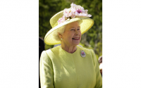 Where is Queen Elizabeth's newest great-grandchild in the line of succession?