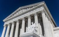 The exterior of the United States Supreme Court.