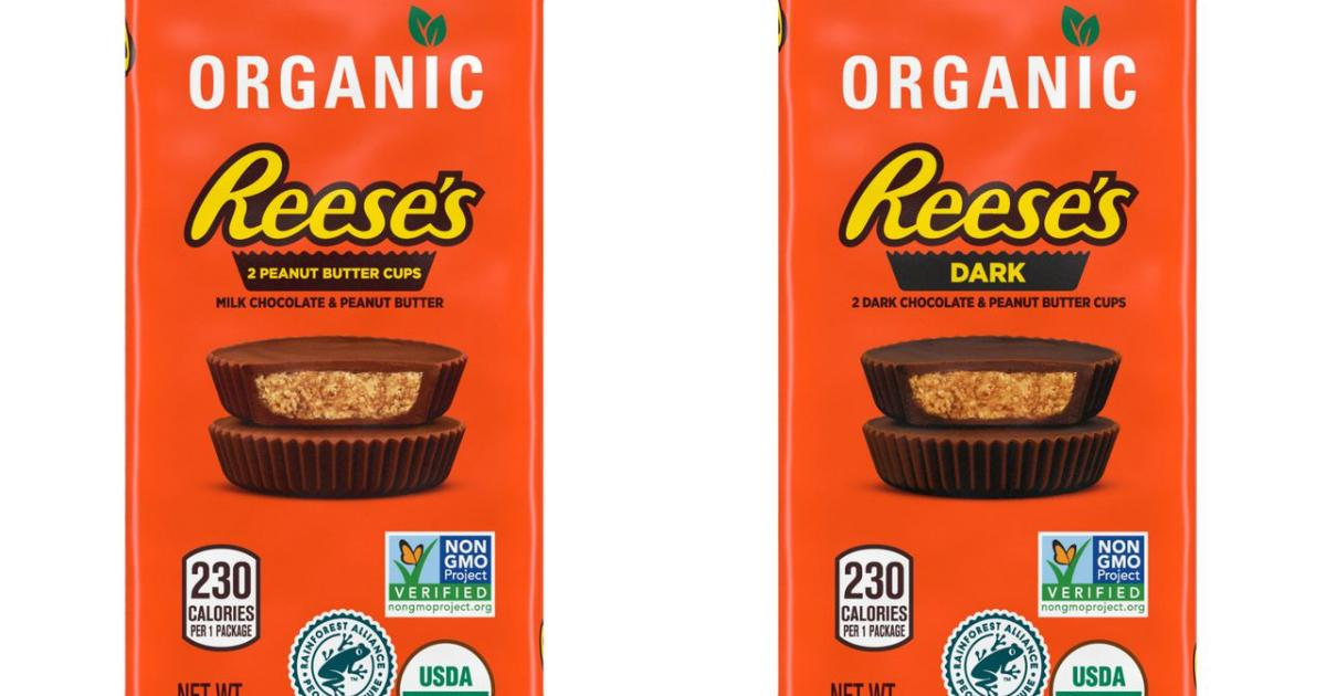 Hershey Debuts Organic Reese's Peanut Butter Cups