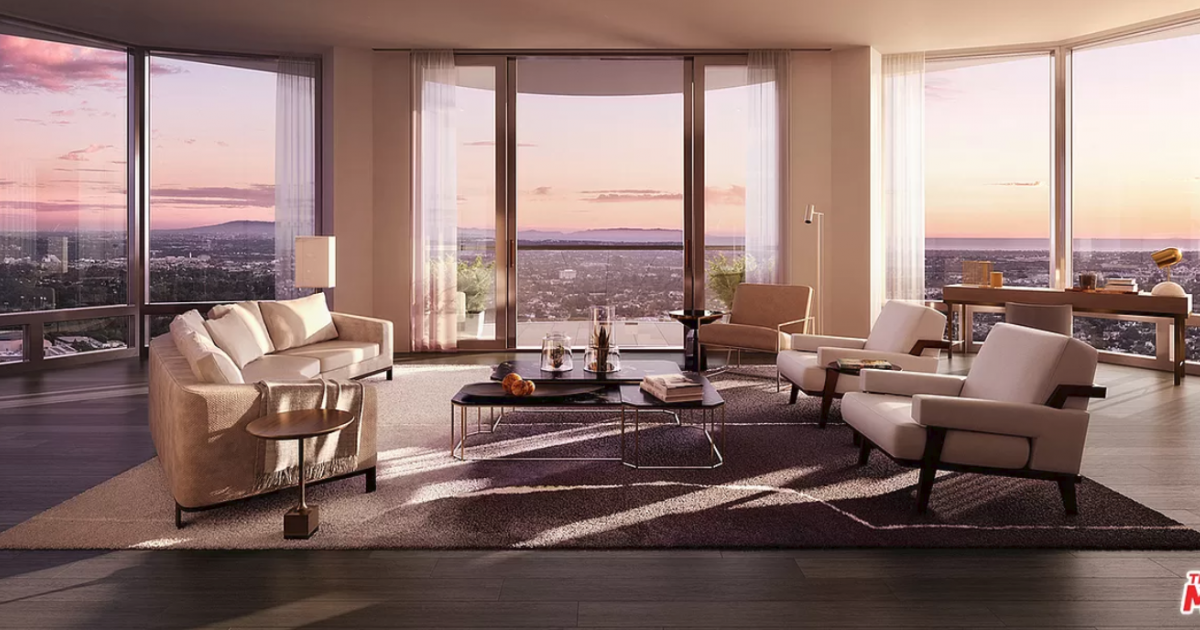 Check Out This Los Angeles Luxury Penthouse On...