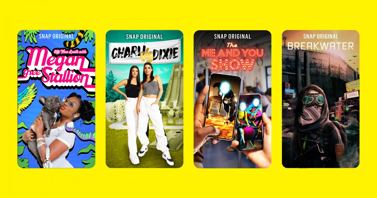 Could Megan Thee Stallion And The D'Amelio Sisters Help Snapchat's Original Content Push? - Benzinga