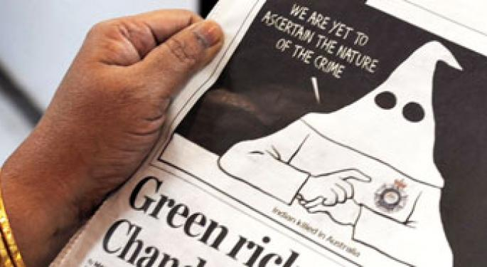 Indian KKK Cartoon Jangles Australian Nerves; Talk About Kangaroo Courts?