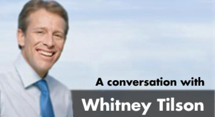 Searching for Value in the Stock Market - Part 2 - Interview with Whitney Tilson, Co-founder and Chairman of Value Investing Congress