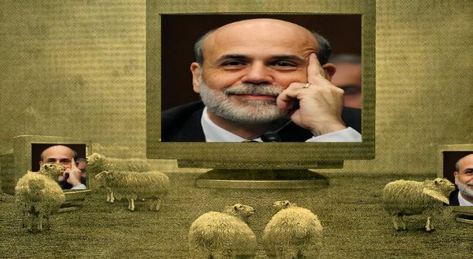 Bernanke's Lending Standards Delusional Rhetoric