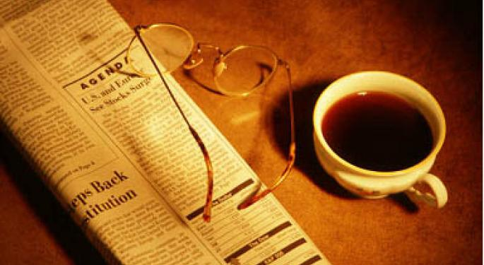 Financial Breakfast: Morning News Summary for July 30, 2012