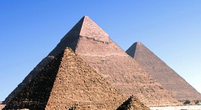 Egypt ETF Soars as Protests Escalate