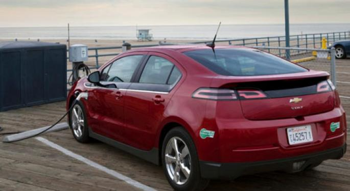 GM to Halt Chevy Volt Production for 4 Weeks -Automotive News