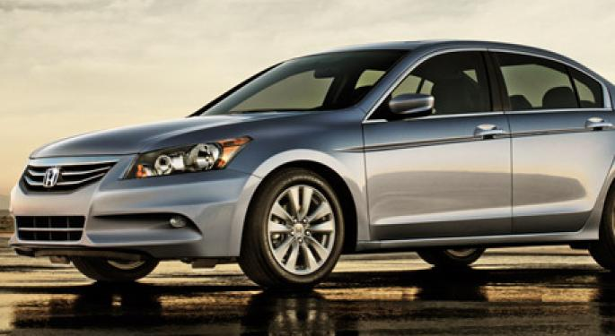 Honda Manufactured the Most Stolen Cars in 2011