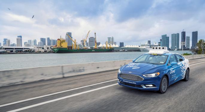 Ford Spins Off Autonomous Vehicle Company, Plans $4B Investment