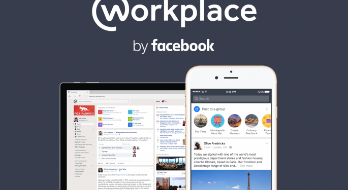 Usuarios de pago de Workplace de Facebook suben un 40%