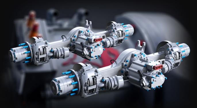 Meritor Readies Integrated Electric Powertrain For Heavy-duty Trucks