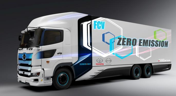 Toyota And Hino Work On Fuel Cell Heavy-Duty Trucks